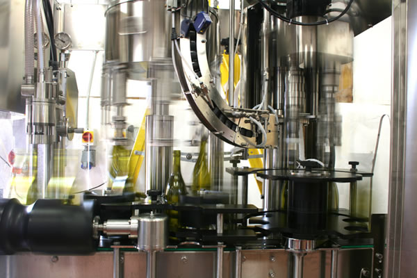 Stopham Vineyard Bottling Line
